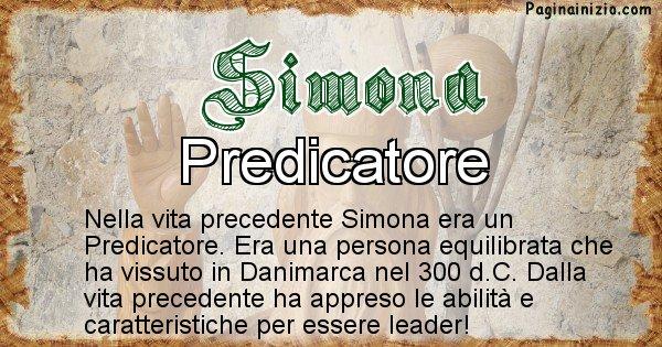 Simona - Vita precedente analizzando il cognome Simona