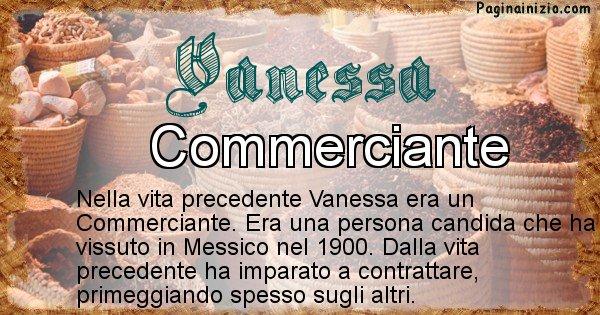 Vanessa - Vita precedente analizzando il cognome Vanessa